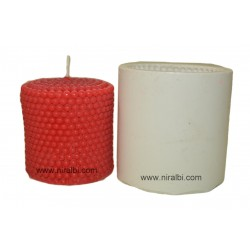 Silicone Pillar Candle Mould