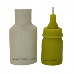 Niral Baby bottle pillar candle mould SL499