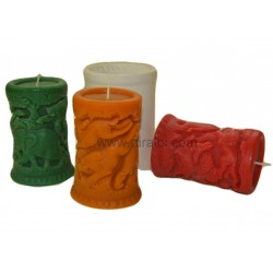 SL206 Rubber DIY 3D Candle Making Mould