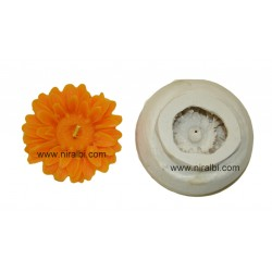 Designer Petals Flower Candle Mould