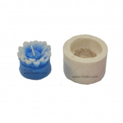 Silicone Sunflower With Base Silicon Mould