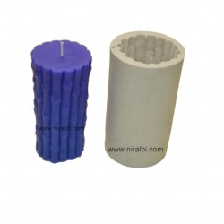 Bamboo Stick Silicone Rubber Candle Mould