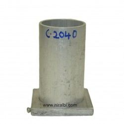 Cylndrical Aluminium Candle Mould