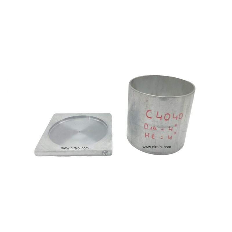 Cylindrical Aluminium Candle  Mould