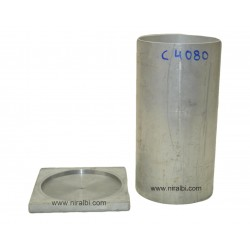 Plain Cylindrical Aluminium Candle Making Mould