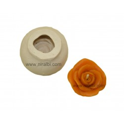 Small Rose Flower Candle Mould