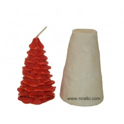Small X-Mass Tree Silicone  Candle Mould