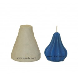 Modak Candle Silicone Rubber Candle Mould