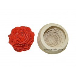Designer Flower Candle Silicone Rubber Mould