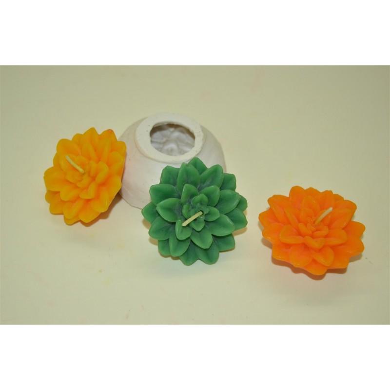 Designer Flower Candle Mould