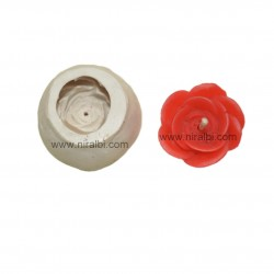 Small Rose Flower Silicone Candle Mould
