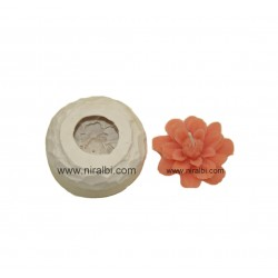 Flower candle mould - SL636...