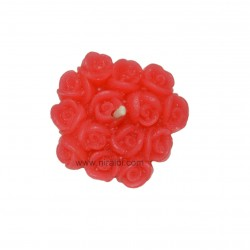 Rose Bunch Silicon Candle Making Mould