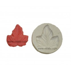Leaf Tart Candle Mould