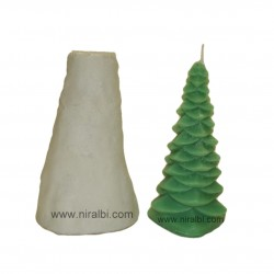 Big Christmas Tree Silicone Candle Mould