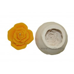 Rose Flower Silicone Rubber Candle Mould