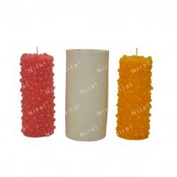 4 Cavity Plain Oval Soap Mould