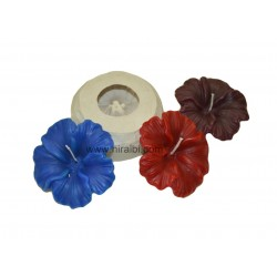 Hibiscus Flower Silicone Candle Mould