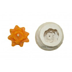 Flower Candle Silicone Mould