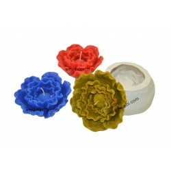Buy Peony Silicone Candle Die