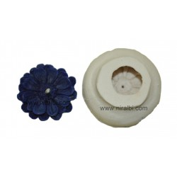 Flower Silicone  Rubber Candle Mould -