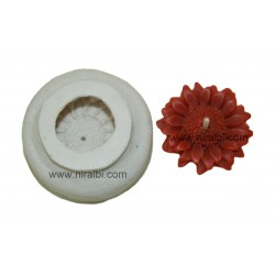 Mini Sunflower Silicone Rubber  Candle Mould