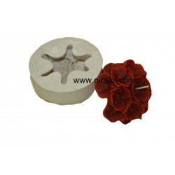 Flower Designer Silicone Rubber Candle Mould