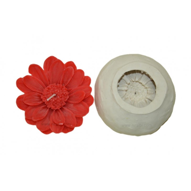 Sunflower Rubber DIY Candle Craft Mould