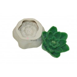 3 Level Lotus Silicone Candle Mould