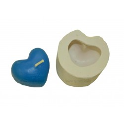 Heart Shape Candle Soap Mould