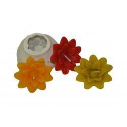 Floating Flower Silicone Candle Mold