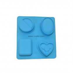 SP32199 Shapes 4 Different Designer Soap Mould