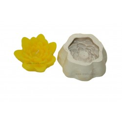 Floating Flower Candle Making Mould, SL256