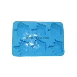 Niral King's Crown Soap Making Rubber Silicone Mould