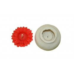 Small Tea Light Flower Candle Mould