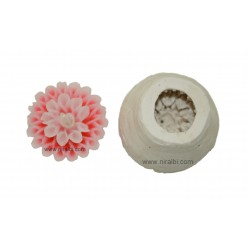 daisy flower candle mould