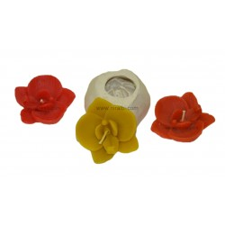 Silicone Floating Flower Candle Mold, Niral Industries