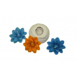 Flower Silicone Rubber  Candle Mould