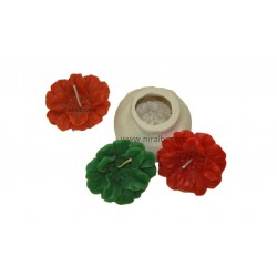 Flower Floating Silicone Candle Mold