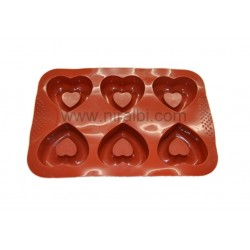 Niral Industries, Designer Double Heart Soap Making Mold