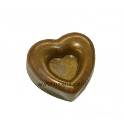Designer Heart Soap Making Mold