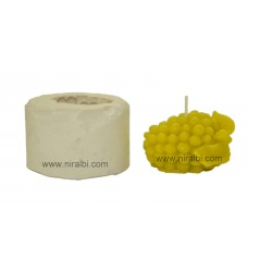 SL279, Small Grapes Silicone Candle Mould