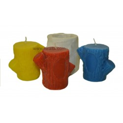 Niral Industries, Tree Trunk Shape Rubber Candle Mould