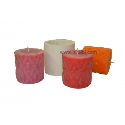 SL287, Pillar Type Silicone Rubber Candle Mould