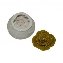 Niral Leaf Design Silicone Candle Mould - SL515