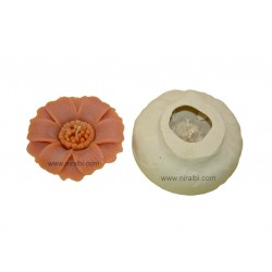 Designer flower candle mould - SL516 Niral Industries