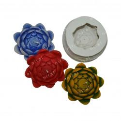 Designer Pillar Riose Ball Candle Making Mold, Niral Industries