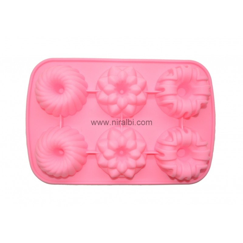 Niral Flower Tray Type Rubber Soap Making Mould
