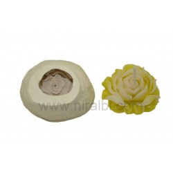 Designer Rose flower Silicone candle Mould, Order Online Niral Industries