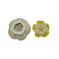 Designer Flower Silicone candle mould - SL554 Niral Industries